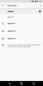 Nokia 5.1 - Bluetooth - connexion Bluetooth - Étape 9