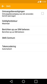 LG G4 Stylus (LG-H635) - SMS - Handmatig instellen - Stap 7