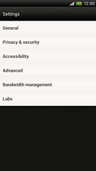HTC S720e One X - Internet - Manual configuration - Step 18