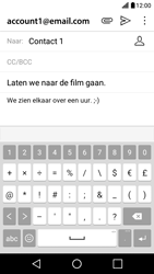 LG X Screen - E-mail - hoe te versturen - Stap 10