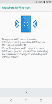 HTC u12-plus-2q55200 - WiFi - Mobiele hotspot instellen - Stap 7