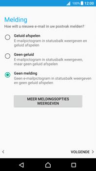 Sony Xperia Z5 Premium - Android Nougat - E-mail - e-mail instellen: POP3 - Stap 20