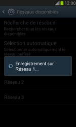 Samsung I8190 Galaxy S III Mini - Réseau - Sélection manuelle du réseau - Étape 10