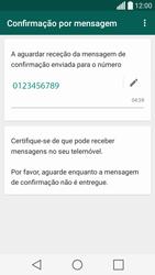 LG C70 / SPIRIT - Aplicações - Como configurar o WhatsApp -  8