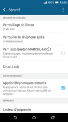 HTC One A9 - Sécuriser votre mobile - Activer le code de verrouillage - Étape 12