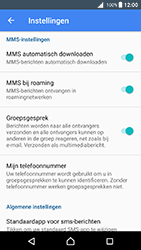Sony F5121 Xperia X - Android Nougat - MMS - probleem met ontvangen - Stap 8