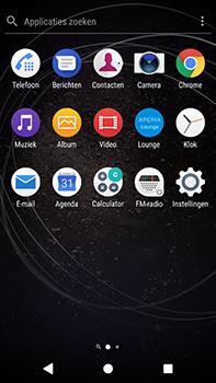 Sony Xperia XA2 Ultra - Voicemail - handmatig instellen - Stap 4