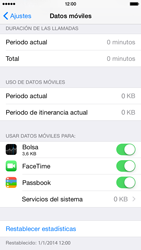 Apple iPhone 6 iOS 8 - Internet - Ver uso de datos - Paso 4