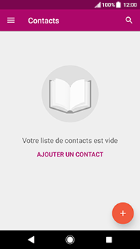 Sony Xperia XA2 Ultra - Contact, Appels, SMS/MMS - Ajouter un contact - Étape 4