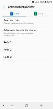 Samsung Galaxy J6 - Rede móvel - Como selecionar o tipo de rede adequada - Etapa 11