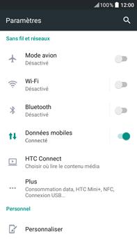 HTC HTC Desire 825 - Wifi - configuration manuelle - Étape 3