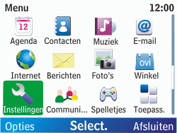 Nokia C3-00 - Internet - handmatig instellen - Stap 4