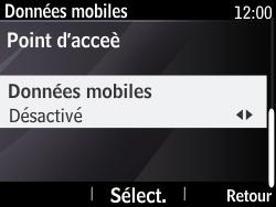 Nokia Asha 210 - Internet - Activer ou désactiver - Étape 6