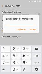 Samsung Galaxy A3 (2017) - SMS - Como configurar o centro de mensagens -  9