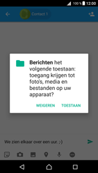 Sony Xperia Z5 (E6653) - Android Nougat - MMS - Afbeeldingen verzenden - Stap 9