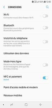 Samsung Galaxy A6 - MMS - configuration manuelle - Étape 6