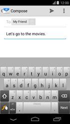 Acer Liquid E600 - E-mail - Sending emails - Step 8