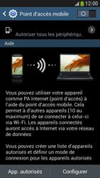 Samsung Galaxy S4 Mini - Internet et connexion - Partager votre connexion en Wi-Fi - Étape 10