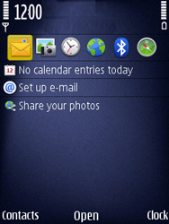 Nokia N86 - Voicemail - Manual configuration - Step 1