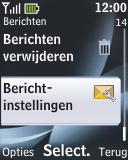 Nokia 2330 classic - E-mail - Handmatig instellen - Stap 5