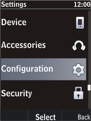 Nokia C2-05 - Internet - Manual configuration - Step 4