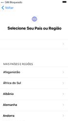 Apple iPhone 7 - iOS 13 - Primeiros passos - Como ativar seu aparelho - Etapa 5