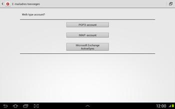 Samsung N8020 Galaxy Note 10-1 LTE - E-mail - Handmatig instellen - Stap 8
