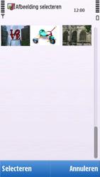 Nokia C6-00 - MMS - afbeeldingen verzenden - Stap 12