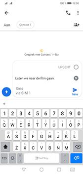 Huawei Mate 20 - MMS - afbeeldingen verzenden - Stap 9
