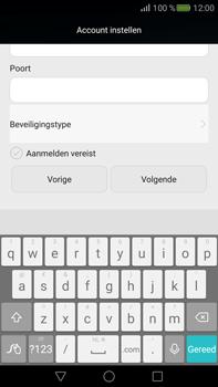 Huawei Mate S (Model CRR-L09) - E-mail - Handmatig instellen - Stap 18