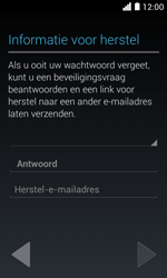 Huawei Ascend Y330 - Applicaties - Account aanmaken - Stap 14