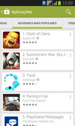 Samsung Galaxy Fresh Duos - Aplicações - Como pesquisar e instalar aplicações -  11