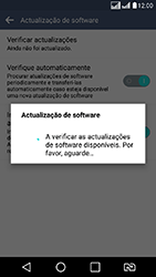 LG K8 - Funções básicas - Como atualizar o software do seu aparelho - Etapa 10