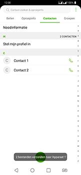 LG g7-fit-dual-sim-lm-q850emw - Contacten en data - Contacten overzetten via Bluetooth - Stap 12