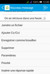 Alcatel Pixi 3 Dual Sim - E-mails - Envoyer un e-mail - Étape 11