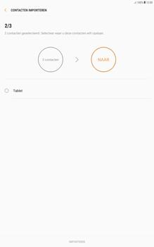 Samsung galaxy-tab-a-10-1-android-oreo - Contacten en data - Contacten kopiëren van SIM naar toestel - Stap 11