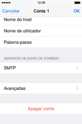 Apple iPhone 4S iOS 8 - Email - Configurar a conta de Email -  21