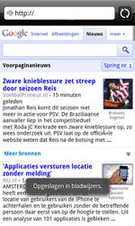 HTC A7272 Desire Z - Internet - internetten - Stap 9