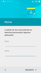 Samsung Galaxy S6 Edge - Primeiros passos - Como ligar o telemóvel pela primeira vez -  13