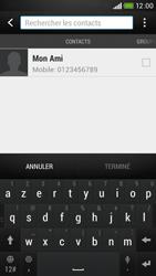 HTC Desire 601 - MMS - Envoi d