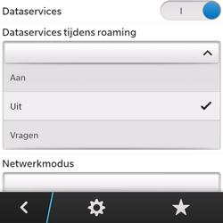 BlackBerry Q5 - Internet - Internet gebruiken in het buitenland - Stap 9