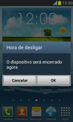 Samsung I8190 Galaxy S III Mini - Funções básicas - Como reiniciar o aparelho - Etapa 4