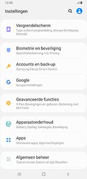 Samsung Galaxy S8+ - Android Pie (SM-G955F) - Instellingen aanpassen - Back-up maken in je account - Stap 4