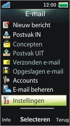Sony Ericsson U10i Aino - E-mail - Handmatig instellen - Stap 13