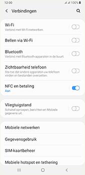 Samsung galaxy-a7-dual-sim-sm-a750fn-android-pie - NFC - NFC activeren - Stap 6