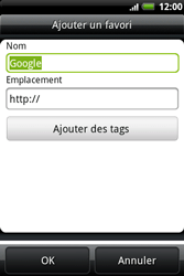 HTC A510e Wildfire S - Internet - Navigation sur Internet - Étape 6