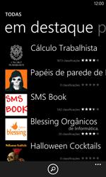 Nokia Lumia 1020 - Aplicativos - Como baixar aplicativos - Etapa 11