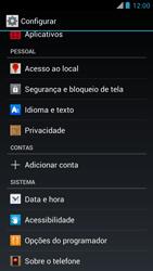 Motorola XT910 RAZR - Funções básicas - Como restaurar as configurações originais do seu aparelho - Etapa 4
