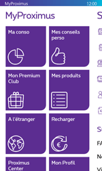 Nokia Lumia 530 - Applications - MyProximus - Étape 19