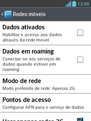 LG E430 Optimus L3 II - Internet (APN) - Como configurar a internet do seu aparelho (APN Nextel) - Etapa 6